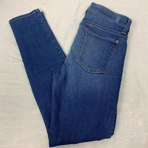 7 For All Mankind Womens Jeans SZ 28 Skinny Ankle